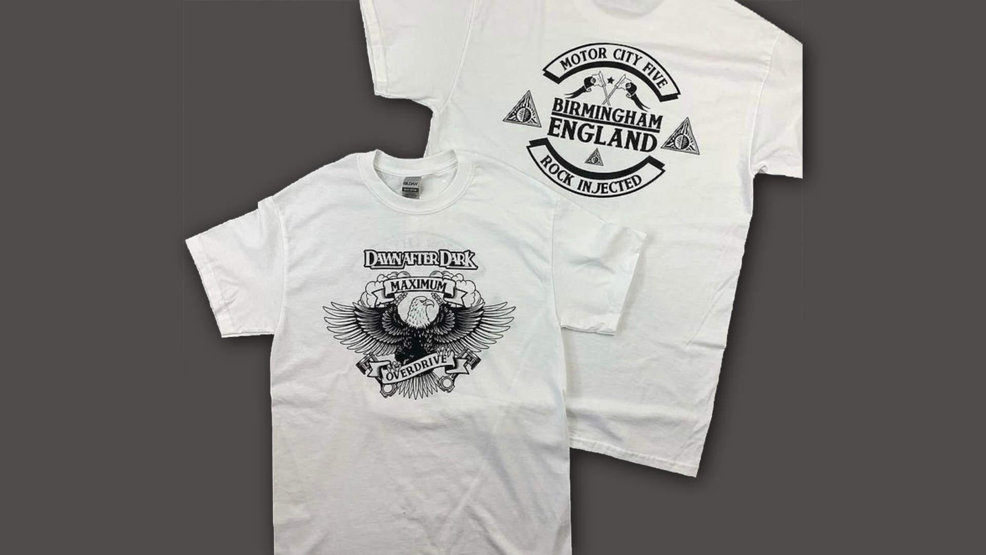 Down After Dark - Maximum overdrive T-shirt